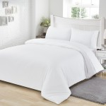 Microfiber Bedding Set White