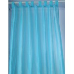 Sheer Tab Top Curtain  2pc