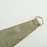 Linen Look Curtain Tiebacks Dark Linen