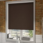 Modern Blackout Roller Blinds Commercial Quality Chocolate