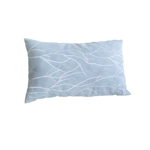 Light Grey Embroidery Cushion Cover Home Decor Pillowcase without Filling 1 pcs