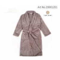 Bathrobe Dressing Gown Men's Women's Supersoft Luxurious Coral Fleece
