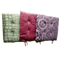 Embossed-Plush Cushion Elegent Home Decor 2PCS 43x43cm