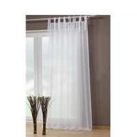 Tie Top Voile Curtain 2 pcs
